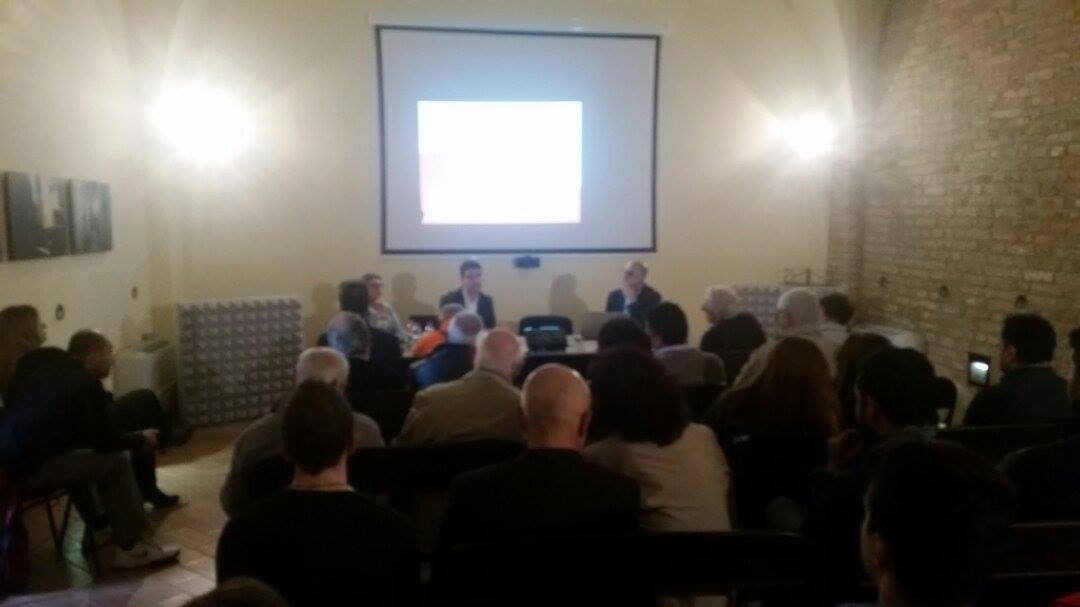 Conferenza Mmt-Comitato No referendum a Montefiore dell'